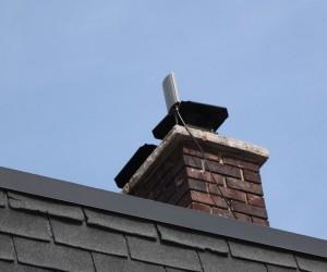 antenna-on-chimney