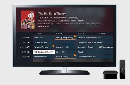 Tablo AppleTV app